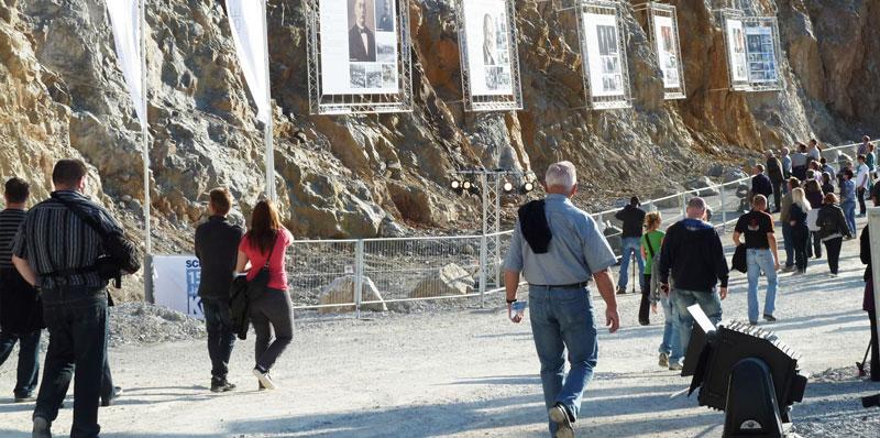 Besichtigung Steinbruch