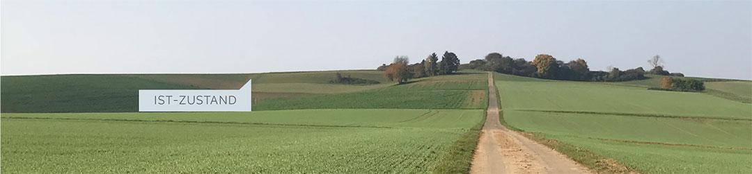 Ist-Zustand Blick von Schupbacher Seite