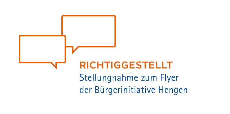 Stellungnahme Flyer BI Hengen